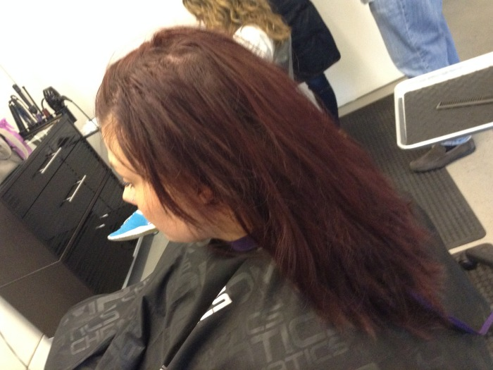Brunette To Red Before