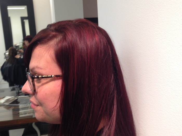 Brunette To Red After 1
