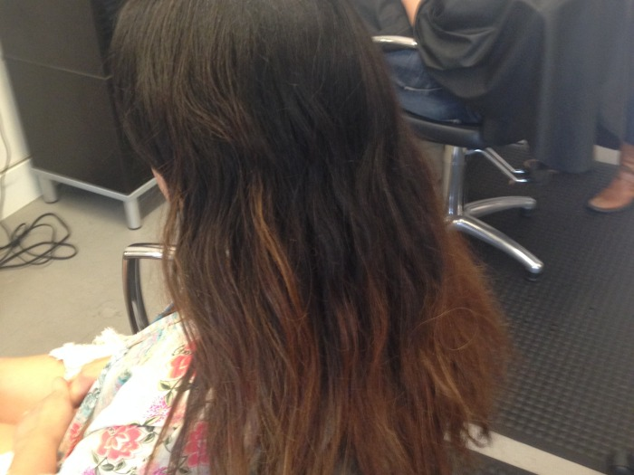 Long to Short Ombre Before