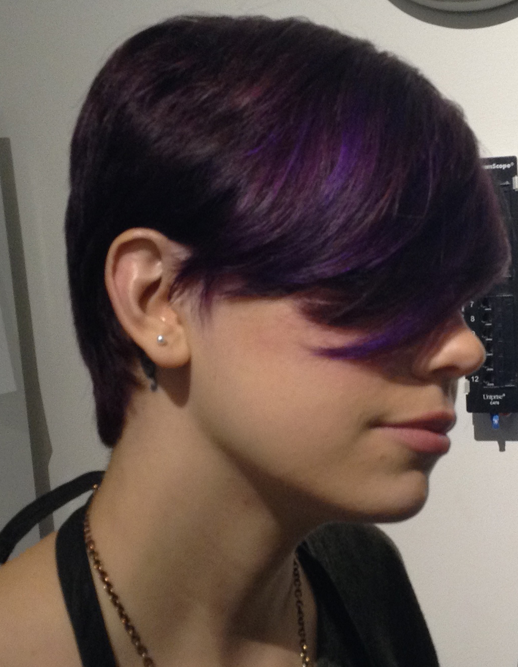 short-haircut-shaved-purple